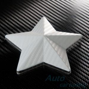 Бяло Карбоново Фолио +UV 1.27м.