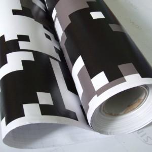 Камуфлажно фолио - Pixel бяло - 1.52м. | KARLOR