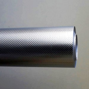 4D Сиво карбоново фолио - 1.52м. | KARLOR