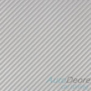 3M Carbon Di-Noc - Сребърно карбоново фолио - 1.22м.