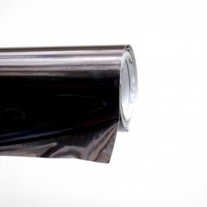 Черен Инокс - гланц с канали - 1.52м. | KARLOR