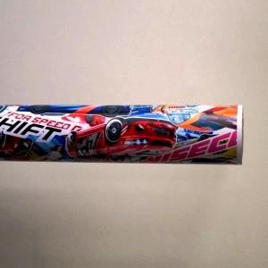 Фолио Sticker Bomb модел 5 + ламинат - 1.52м.
