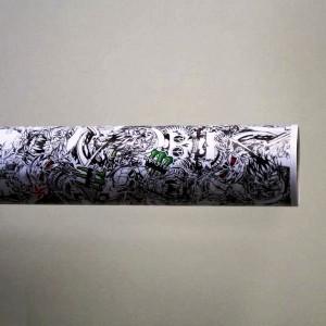 Фолио Sticker Bomb модел 6 + ламинат - 1.52м.