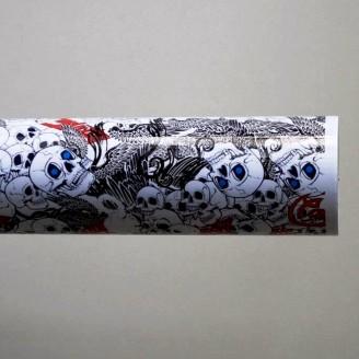Фолио Sticker Bomb модел 9 + ламинат - 1.52м.