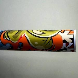 Фолио Sticker Bomb модел 11 + ламинат - 1.52м.