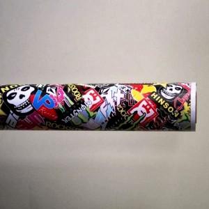 Фолио Sticker Bomb модел 12 + ламинат - 1.52м.