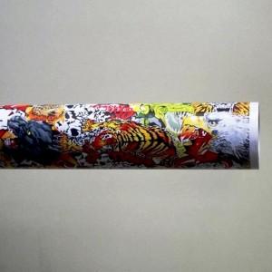 Фолио Sticker Bomb модел 14 + ламинат - 1.52м.