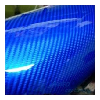 5D Carbon Extra Blue - 1.22м. | DECAL-FX