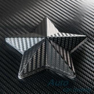 Черно Карбоново Фолио Шарки +UV - 1.27м. | Li Qi Germany