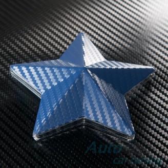 Синьо Карбоново Фолио +UV 1.27м.