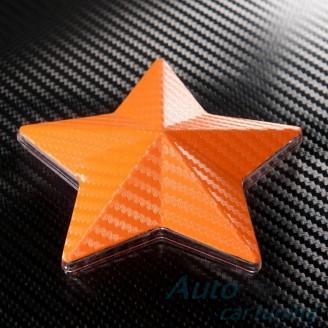 Оранжево Карбоново Фолио +UV - 1.27м. | Li Qi Germany