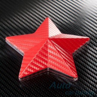 Червено Карбоново Фолио +UV - 1.27м. | Li Qi Germany