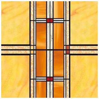 Цветно Фолио за Стъкла - Arts and Crafts