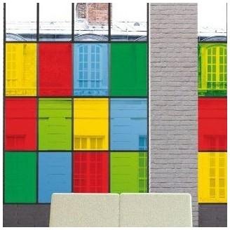 Фолио за прозорци - Transparent Uni-Y - 45см. | d-c-fix